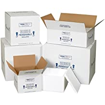 """Insulated Shipping Containers, 13 3/4"""" x 11 3/4"""" x 11 7/8"""" - [1/CASE]"""