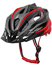 X-TIGER Cycle Helmet With Detachable Visor BMX Mountain Road Bicycle MTB Helmets Adjustable Cycling Bicycle Helmets for Adult Men&Women Outdoor Sport Riding Bike Fully CE Certified