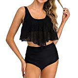 high Waisted Swimsuit,Women Two Pieces Bathing