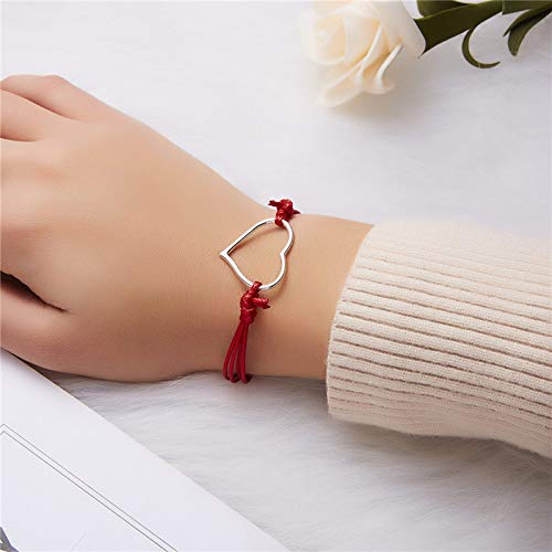 Centory Fashion Love Creative Cartoon Small Animal Woven Friendship Matching Bracelets Set for Women Promise Wish Card Jewelry Gifts for Best Friends/Family/Couple (Design-H)