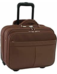 Royce Leather Ultimate ComputerCommuter Travel Case - Chocolate