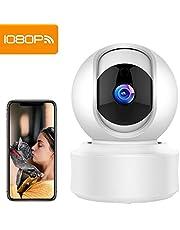Mibao 1080P Telecamera Sorveglianza Wifi Camera IP Wireless Interno con Visione Notturna, Rilevamento Movimento, Allarme via APP, Pet/Elderly/Baby Monitor, Compatibile con iOS e Android e PC