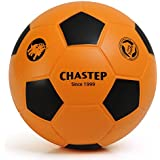 """Chastep 8"""" Foam Soccer Ball Perfect for Kids or Beginner Play and Excercise Soft Kick & Safe,Orange/Black"""