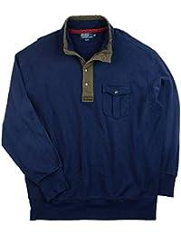 Polo Ralph Lauren Men\u0026#39;s Big \u0026amp; Tall Patina French Terry Mockneck Pullover