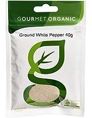 Gourmet Organic Herbs Pepper White Ground, 40 g