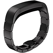 Fitbit Alta (HR) Bands, NO1seller Top Premium Stainless Steel Watch Band Bracelet Strap For Fitbit Alta and Fitbit Alta HR Fitness Tracker