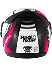 Pro Tork Capacete Evolution G6 Red Nose Rn-01 Fosco 58 Rosa