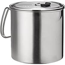 Solo Pot 900: Lightweight Stainless Steel Backpacking Pot for Solo Stove and Other Backpacking & Camping Stoves