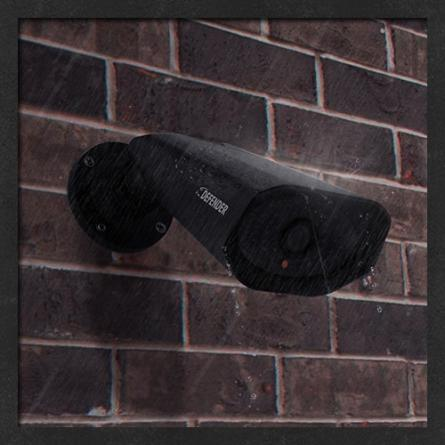 Heavy Duty, Weather Resistant Cameras & 65ft Fire-Rated FT4 Cables To Meet Code