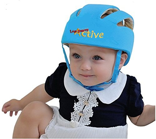 ELENKER Adjustable Baby Toddler Safety Helmet Hat Head Protection Specification: Materials: % cotton, filling Multi-functional foaming material tenbadownload.gas: