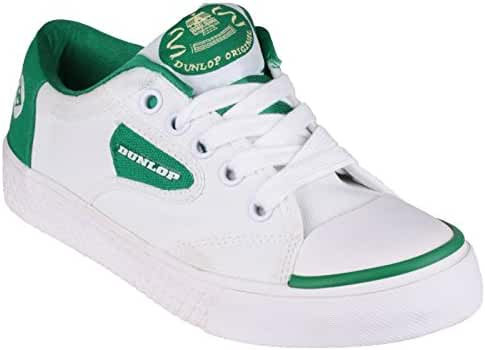 Dunlop Green Flash DU1555 Non-Marking Trainer/Mens Trainers
