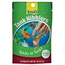 Tetra Tank Nibblers, Veggie, 18-Count by Tetra [Pet Supplies]