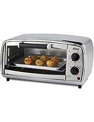 NEW Oster TSSTTVVGS1 4-Slice Toaster Oven, Stainless Steel
