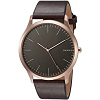 Skagen Men's SKW6330 Jorn Dark Brown Leather Watch