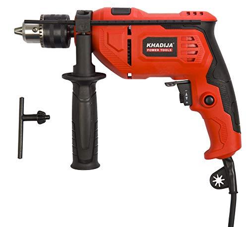 KHADIJA 650WATT 13MM Power Impact Reverse Forward Rotation Drill Machine with Speed Regulator