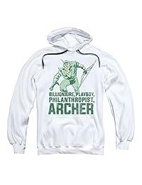 DC Comics Green Arrow Superhero Billionaire, Playboy, Archer Adult Hoodie