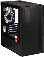 Cooler Master MasterBox NR400 Micro-ATX Case with Fine Mesh Fully Ventilated Front Panel and ODD Support, Black
