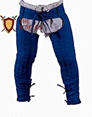 Medieval Lagging Thick Padded Chausses Lower Under Gambeson Hauberk SCA Armor