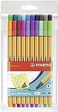 Stabilo Point 88 - Pack de 20 punta finas