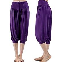 GoodLock Clearance!! Women Ladies High Waist Pants Sport Harem Loose Capris Yoga Elastic Shorts Pants