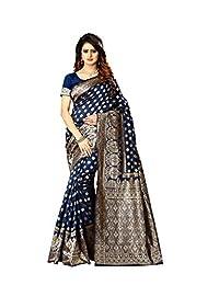 606ba0d17af ziya Women s Banarasi Silk Saree Indian Wedding Ethnic Sari   Unstitch  Blouse Piece PARI 22