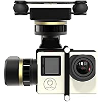 Feiyu Tech FY-M3D Mini 3D PRO 3-Axis Air Gimbal with 360 Degree Panning for GoPro (Black)