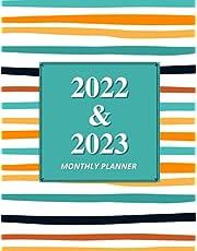 2022-2023 Monthly Planner: Two Year Planner Calendar Schedule Organizer, 24 Months Agenda, Notes & Monthly Calendar.