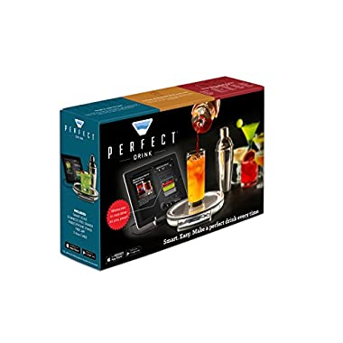 Perfect Drink App-Controlled Smart Bartending - Buy Direct - As Seen On TV - Make Hundreds of drinks perfectly like a pro bartender! Impress your friends and become a famous mixologist overnight! Works with Iphone and Android smartphones and tablets. Awarded Coolest Product at Tech Awards 2014!