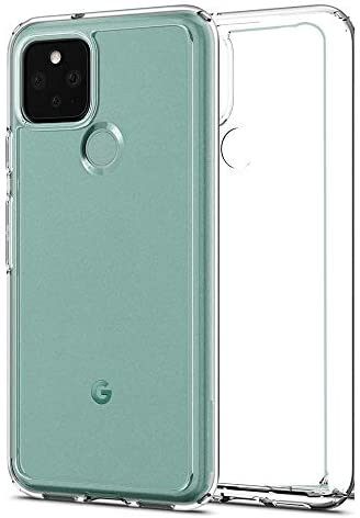 for Google Pixel 5 Crystal Clear Case, Transparent Shockproof Silicone Soft Phone Case Cover for Google Pixel 5