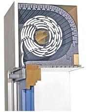 Rolluikkastisolatie TRI-Flex-TF met geluidsisolatie 25 mm afsluitdeksel 175 mm