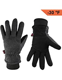 Winter Gloves -30°F Cold Proof Thermal Driving Glove -...