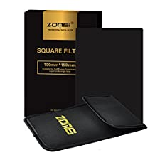 """Zomei Full Grey Neutral Density ND16 Square Z-PRO Series Filter for Cokin Z Lee Hitech 4X6"""" Holder 150*100mm"""