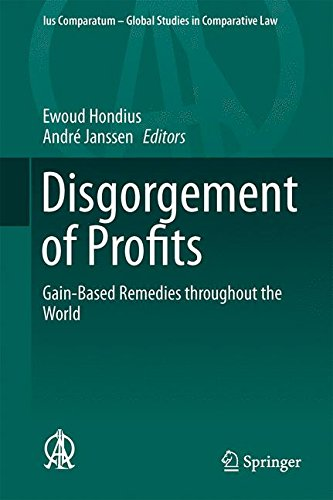 Disgorgement of Profits: Move further-Based Remedies throughout the World (Ius Comparatum - Global Studies in Comparative Law)