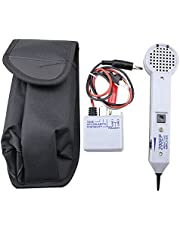 Tone and Probe Kit, Wire Tracer Circuit Tester 200EP High Accuracy Cable Tone Generator Inductive Amplifier and Probe Kit with Adjustable Volume