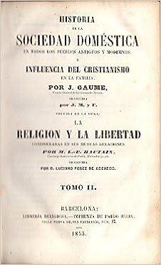 Historia de la sociedad domŽstica, influencia del ...