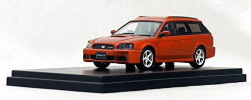 1/43 SUBARU LEGACY TOURING WAGON GT-B E-tuneII 2001(カッパーオレンジ・マイカ) HS126OR
