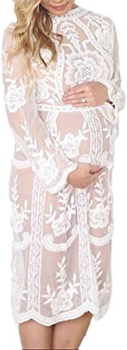 Maternity Photography Prop Sexy Maternity Dress Fancy Maternity Lace Dress