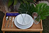 SUBLIMED 8 Piece Stainless Steel Portable Utensil