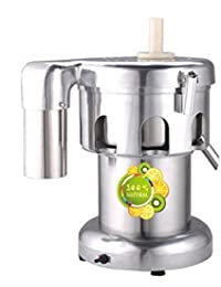 Purchase 110V/60Hz 220V\50HZ 370W Professional Commercial Juice Extractor Vegetable Juicer, single blade cheapest