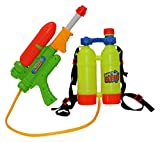 SINTECHNO Water Gun with Backpack Double Water