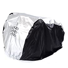 Ailier Bike cover Universal Waterproof Dustproof UV Protective Breathable Indoor & Outdoor Motorcycle Motorbike Cover With Storage Bag