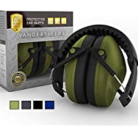 Ear Protection for Shooting – Compact Foldable Portable Hearing Protection Safety Earmuffs for Blocking Sound Reduction – Perfect for Hunting Range Studying Lawn Mowing – Men Women Adults Army Green