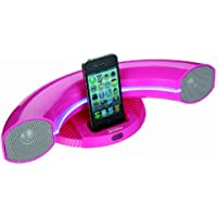 Sylvania SIP351-Pink Speaker Dock for iPod/iPhone