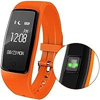 Pulsera Smart Wristband Heart Rate Monitor pulsera deportivo Fitness Bluetooth precisión visualización dinámica Heart Rate Active Sports Vigilancia contenido