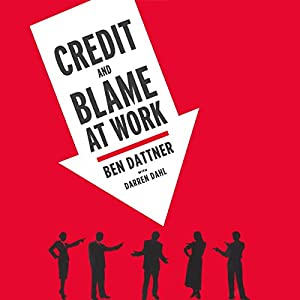 Credit and Blame at Work Audiobook
