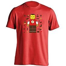 Sheldon Cooper Lego Big Bang Theory Mens & Womens Printing T Shirt