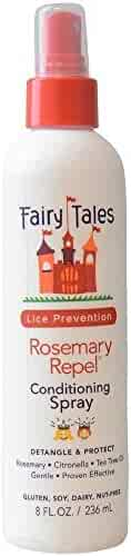 Fairy Tales Rosemary Repel Lice Preventing Conditioning Spray, 8 oz