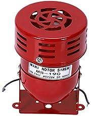 Fayme AC 220 V rood metaal motor aangedreven luchtaanval sirene hoorn alarm