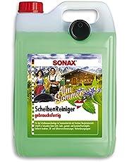 Sonax 322500 Ruitenreiniger Alm Zomer gebruiksklaar verwijdert insecten, olie, siliconen en typische straatvervuilingen, 5 liter