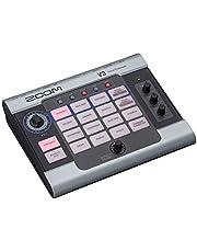 Zoom V3 Procesador vocal, pedal de efectos vocales, armonía de 3 partes, corrección de tono, 16 efectos de grado de estudio, funciona con pilas, para transmisión y grabación
